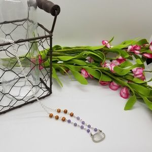 Jewelry - Handmade Clear Crystal Quartz Pendant